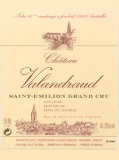 Château Valandraud 2006 Original wooden case of 12 bottles (12x75cl)