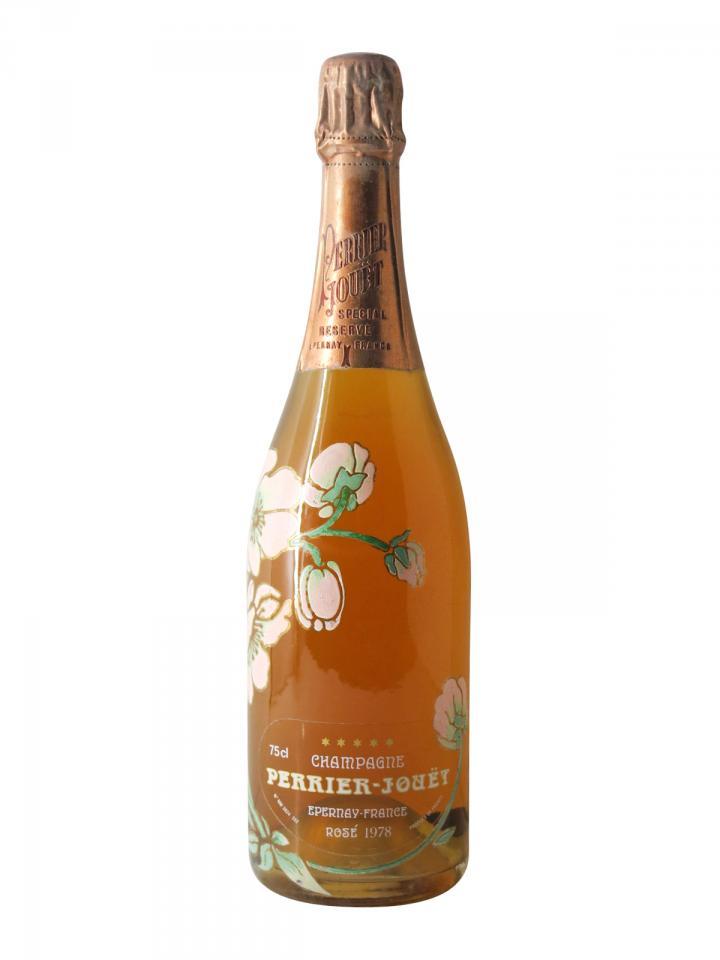 Champagne Perrier Jouët Belle Epoque Rosé Brut 1978 Bottle (75cl)