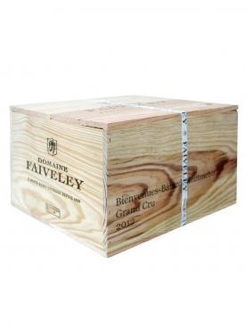 Bienvenues Bâtard-Montrachet Grand Cru Domaine Faiveley 2012 Original wooden case of 6 bottles (6x75cl)