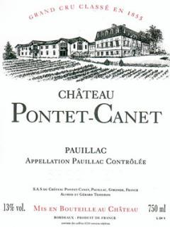 Château Pontet-Canet 1989 Original wooden case of 12 bottles (12x75cl)
