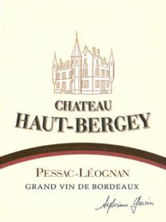 Château Haut-Bergey 2010 12 bottles (12x75cl)
