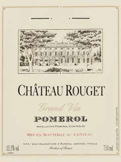 Château Rouget 2013 Original wooden case of 6 bottles (6x75cl)